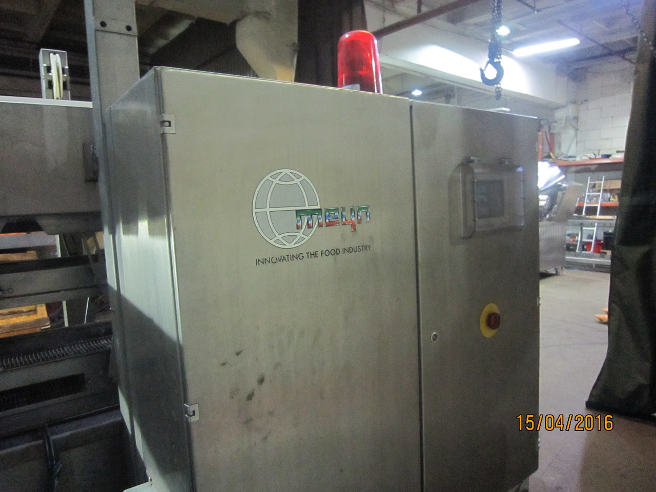 Meyn/Provatec – Forming and breading line for burgers