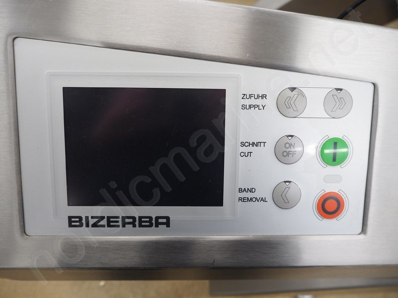 Bizerba A 550 Slicer for meat and cheese products