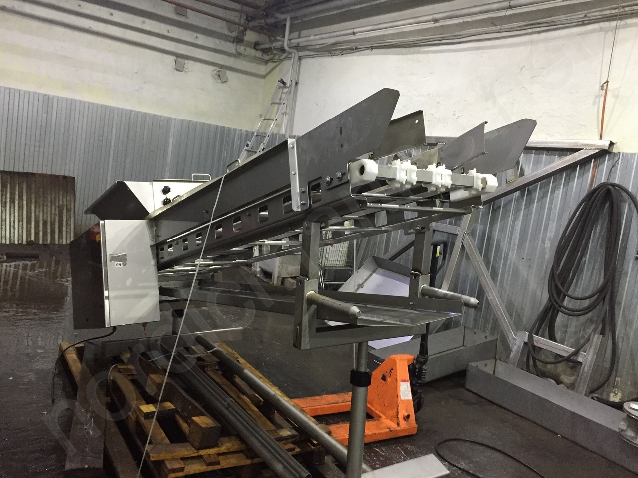 Gunther GZB 350 – 900 Rising belt conveyor