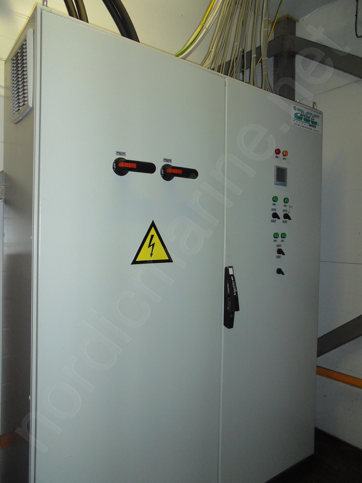 Freezing unit with Bitzer compressor and DSI plate freezers