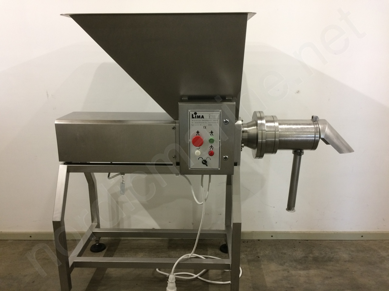 Lima RM 70 S - Bone separator for beef, lamb, chicken, pork, fish
