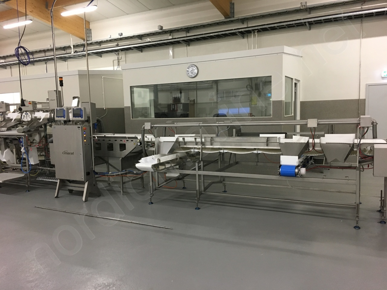 Marel Trimming Line for whitefish
