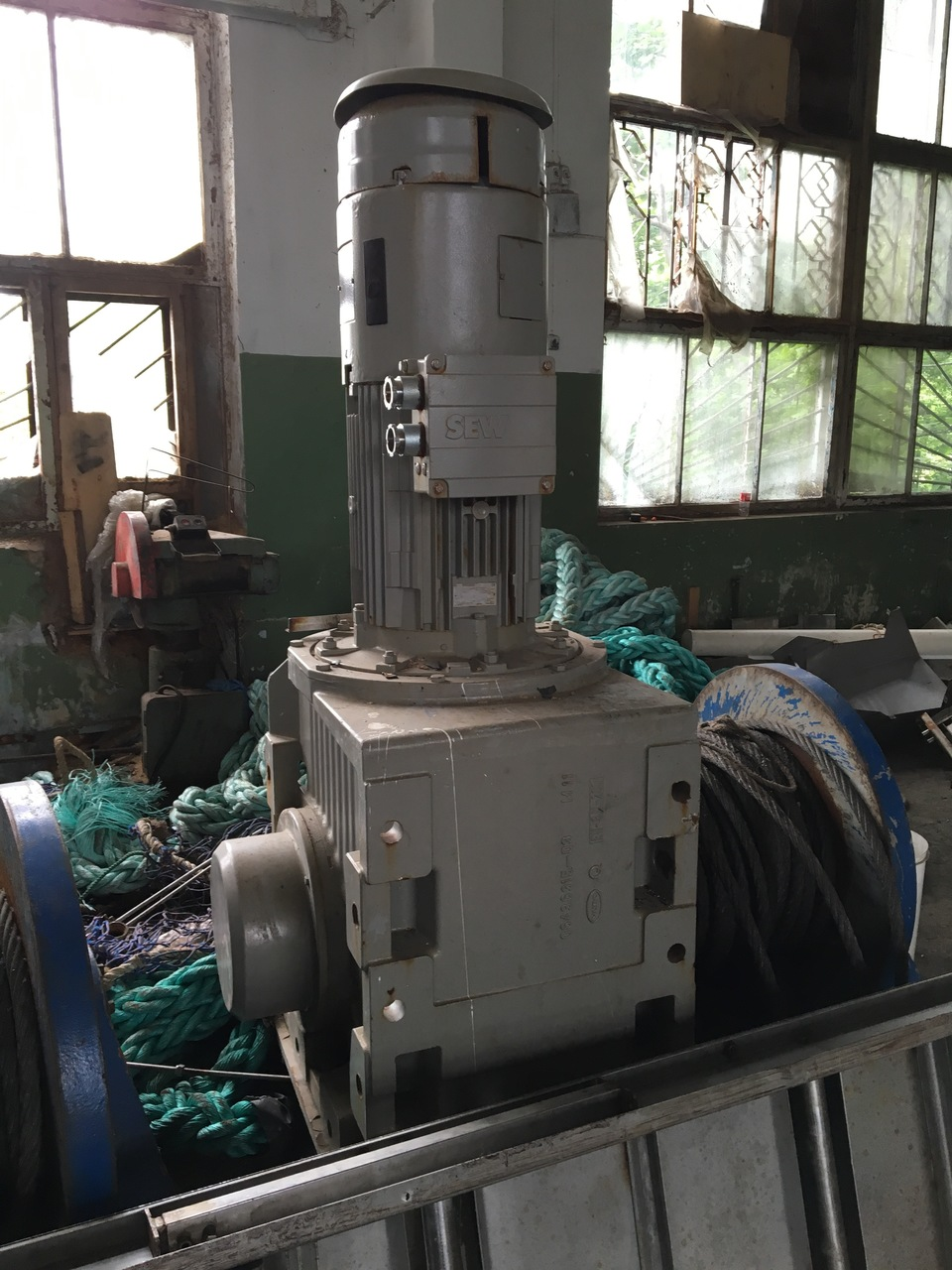 Sew Eurodrive winch for trawl
