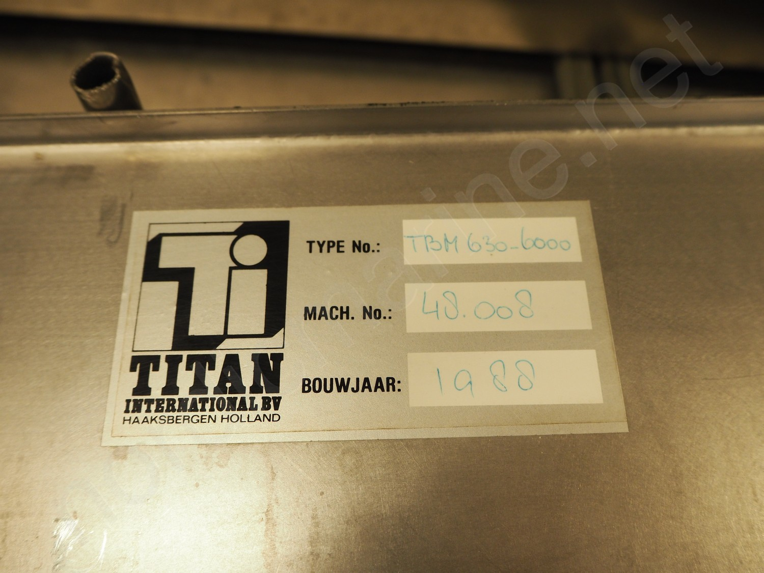 Stork Titan TBM 630 \ 6000 Frying line