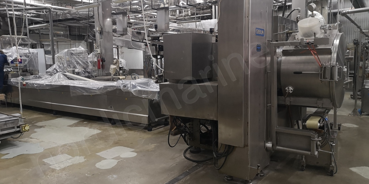 Surimi production complete line