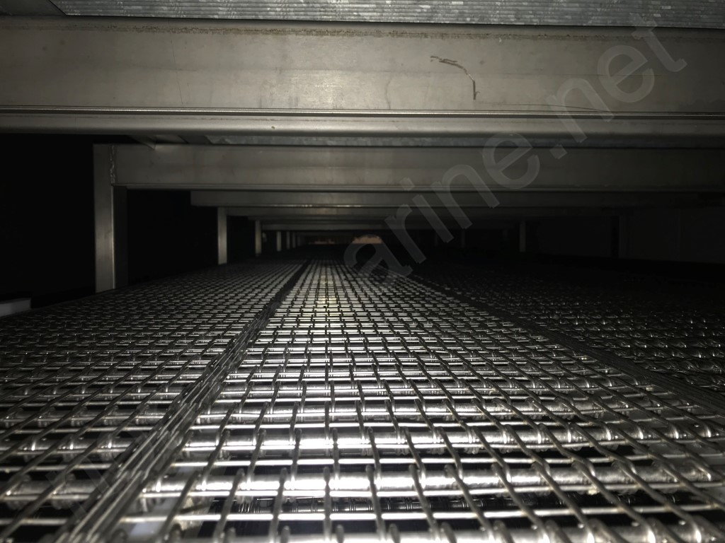 Tunnel freezer